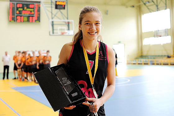 Kadri Ann Lass of champions SC Audentes Tallinn was named the EEGBL SuperFinal MVP