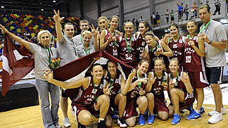 Bronze Medal Winners Latvia
