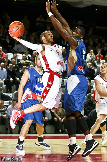 9. Timothy Black (Antwerp Giants)