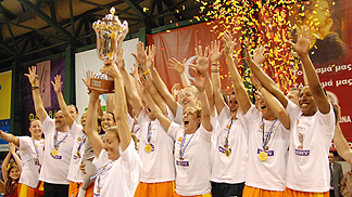 Sony Athinaikos - EuroCup Women 2010 Final