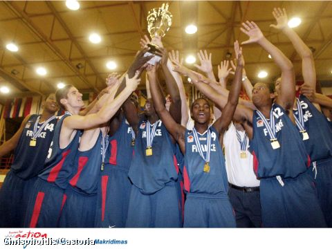2004 European Champions for U16 Boys - France