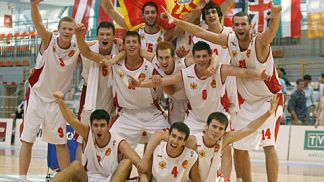 Montenegro celebrate win over Finalnd