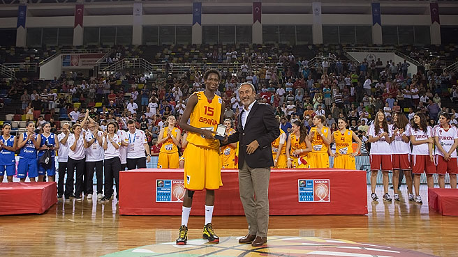 MVP Ndour Heads All Tournament Team
