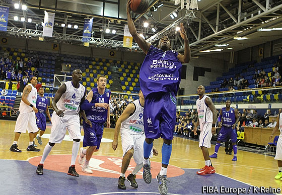 7. Quincy Taylor (Mons-Hainaut)