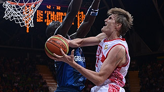 Andrei Kirilenko (Russia); Russia v Great Britain, Olympic Games 2012, London