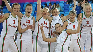Belarus clinch a place at the 2014 World Championship with their win over Sweden