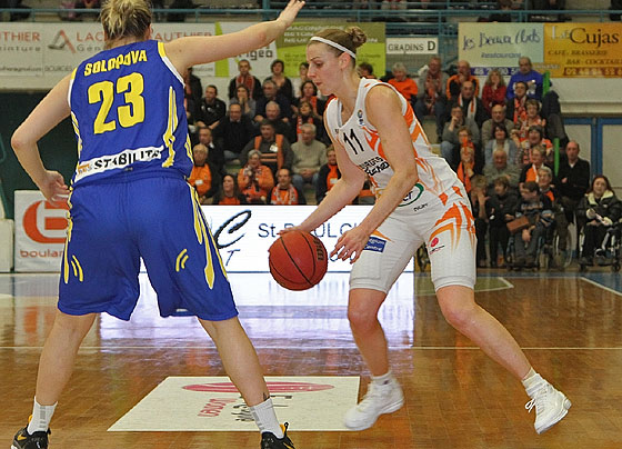 11. Catherine Joens (Bourges Basket)