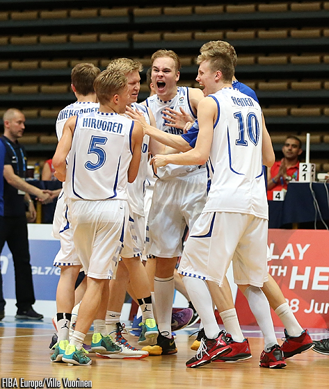 Finland defeated their Scandinavian rivals Sweden for the last remaining ticket to Division A for 2015