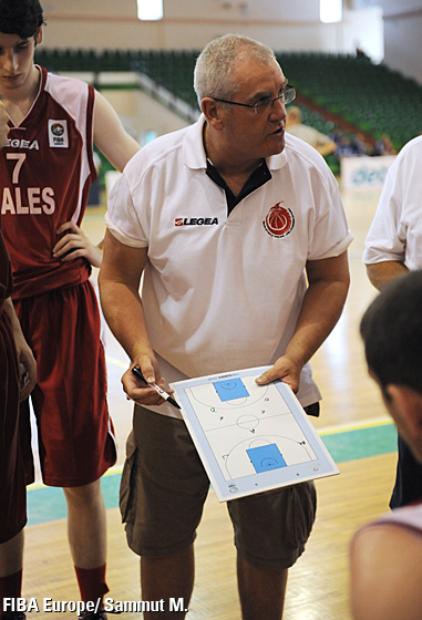 Steve Williams, Head Coach (Wales)
