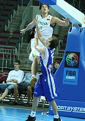 Marius Valukonis (Lithuania), Nicholas William Calathes (Greece)