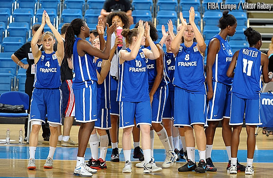 France clinch fifth place at the U20 European Championship Women 2012