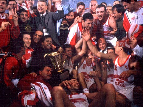 1997 EuroLeague Champions Olympiakos