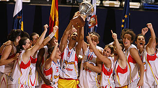 Winner of the UMCOR U18 European Championship Women 2006: Spain