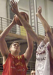 Marc Gasol (Spain) had 28 points, 12 rebounds and 6 steals against Latvia