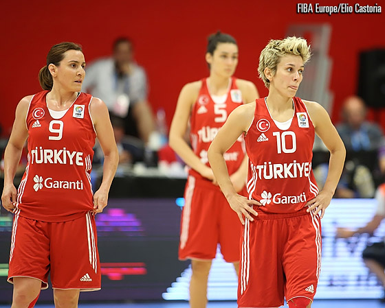 Turkey suffered their first loss at EuroBasket Women, falling to Spain on the last day of Group E action