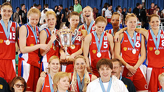 Winner of the tournament - Russia