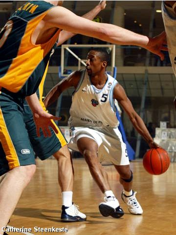 Clint Harrison (PARIS BASKET RACING)