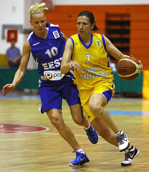 7. Amra Mehmedic (Bosnia and Herzegovina)