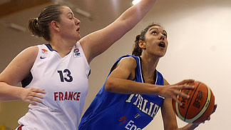 Eléonore Grossemy (France, left), Alessandra Formica (Italy)
