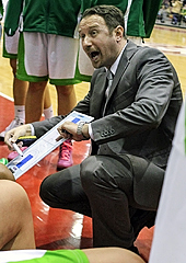 ACS Sepsi head coach Zoran Mikes