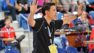 France coach Gregory Halin