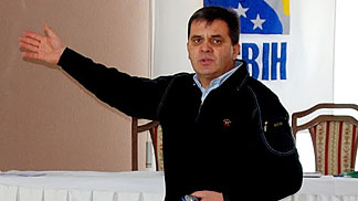 Davorin Nakic  at the Mid-Season Referee Clinic in Bosnia and Herzegovina -  18 February 2012
