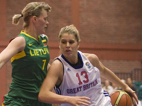 Johannah Leedham (Great Britain), Milda Sauliute (Lithuania)