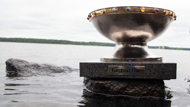 EuroBasket 2015 Trophy Tour stop in Finland