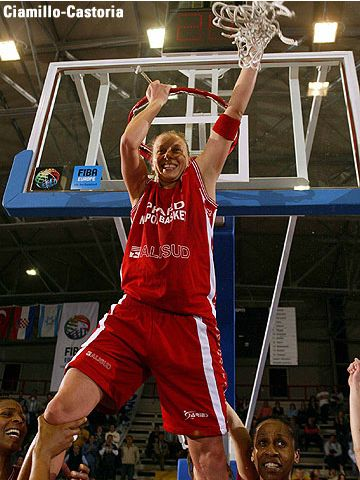 Francesca Zara, MVP of the FIBA Europe Cup Women Final Four 2005
