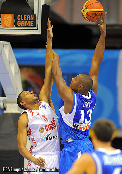 Kelly Mc Carty (Russia), Boris Diaw (France)