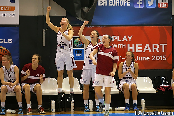 7. Asnate Fomina (Latvia), 8. Renate Reine (Latvia)