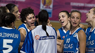 Greece record their second win at the U20 European Championship Women Division B