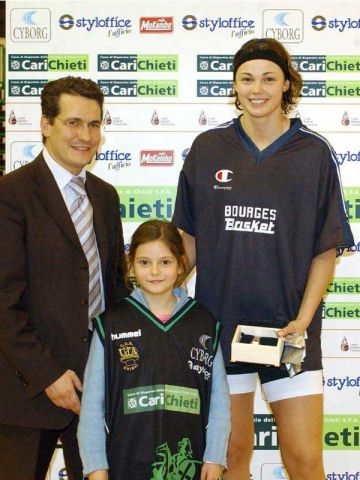 MVP of the game Carichieti - Bourges, Bourges forward Ljubica Drljaca