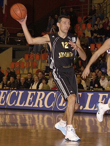 Laurent Sciarra (JDA Dijon Basket)
