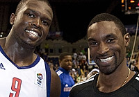 Luol Deng and Ben Gordon - Great Britain