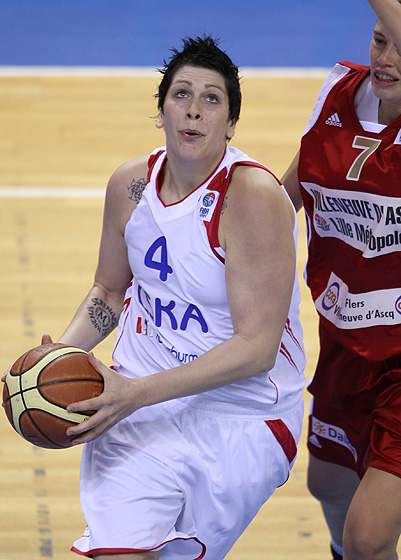 Janel Mc Carville (CSKA Moscow)