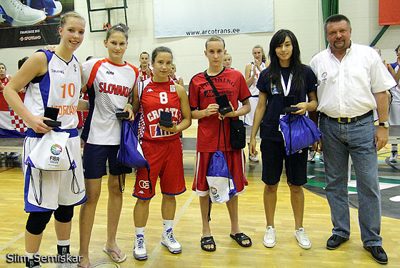 All Tournament Team U16 European Championship Women Division B 2009