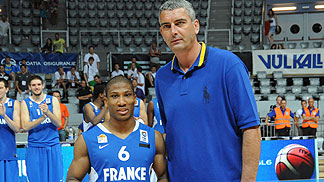 Andrew Albicy (France) with Stojan Vrankovic
