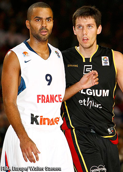 Sam Van Rossom (Belgium) vs Tony Parker (France)