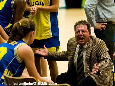 Gran Canaria Head Coach Domingo Diaz
