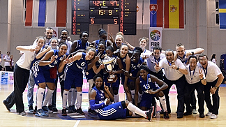 France: 2014 U20 European Women Championship Winners