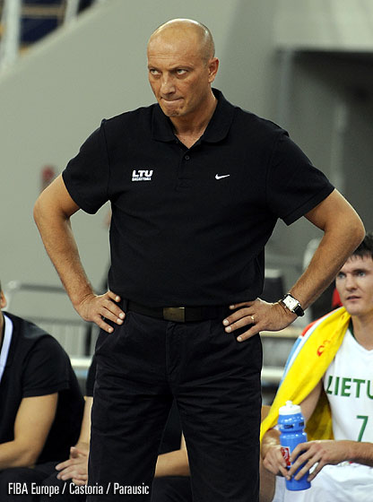 Lithuania Head Coach Ramunas Butautas