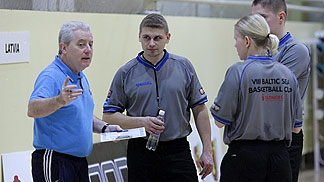 Will Jones at the Baltic Sea Cup 2012 Referee Clinic
