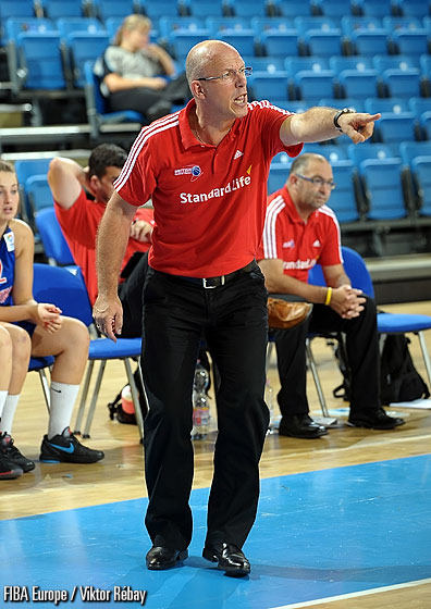 Great Britain head coach Frans Griffioen
