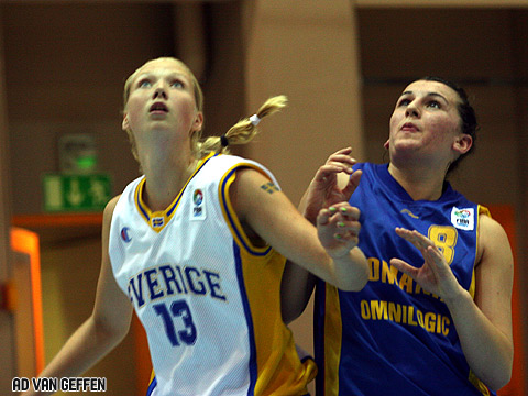 Frida Fogdemark (Sweden) and Andreea Pop (Romania)
