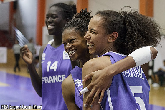 5. Marième Badiane (France), 11. Valeriane Ayayi (France)