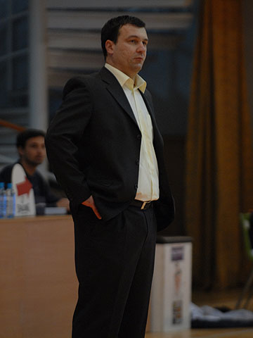 Stipe Bralic (Headcoach Jolly JBS Sibenik)