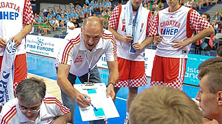 Croatia Head Coach Jaksa Vulic