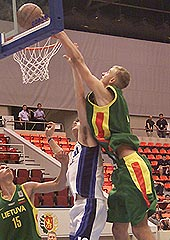 Martynas Andriuskevicius (LTU) had a triple double against Israel with 18 points, 15 rebounds and 10 blocks