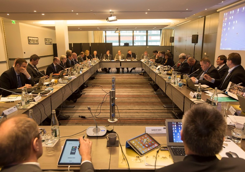The Board of FIBA Europe in session, in Paris, France, 20th March 2016